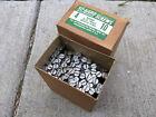 """New Box 144 #10 x 4"""" Bright Steel Flat Head Wood Screws Slotted So-Hard USA"""