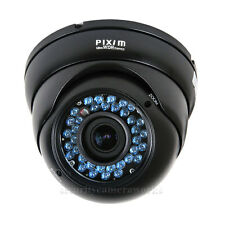 """Dome Security Camera IR 1/3"""" Pixim DPS WDR Outdoor Infrared Day Night Vision bmu"""