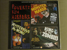 POVERTY ROW HORRORS LASERDISC ROAN KING OF THE ZOMBIES MONSTER MAKER NEW SEALED!
