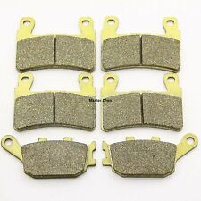 Front Rear Brake Pads For Honda CBR 900 CBR900 RR Fireblade 1998-2003 Brakes