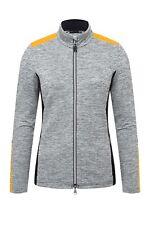 KJUS Ladies Radun Midlayer Jacket Ski Jacket Black White Yellow all Sizes New