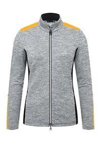 Kjus Damen Radun Midlayer Jacket Ski Jacke Schwarz Weiß Gelb alle Größen Neu