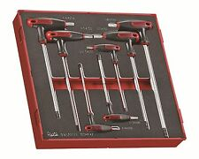 Teng Tools 7 Piece T-Handle Metric Hex Key Wrench Set EVA Modular TEDHEX7