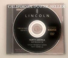 LINCOLN LS TOWNCAR NAVIGATOR AVIATOR NAVIGATION DISC DVD CD GPS MAP DISK 5D