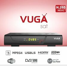 VUGA SAT H.265 1080P. REGALO HDMI. ENTREGA 24/48 HORAS. GARANTÍA 2 AÑOS