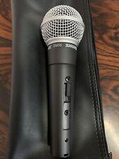 Shure SM58 S  Dynamisches Vocal Mikrofon mit Schalter,  Mikrophon