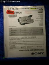 Sony Service Manual DCR TRV345E TRV350 TRV351 TRV355E TRV356E Level 2 (#4788)