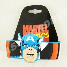 Marvel Captain America Red Rubber Wristband New