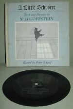 """VINTAGE COLLECTIBLE BOOK & RECORD """"A LITTLE SCHUBERT"""" by GOFFSTEIN & SCHAAF"""