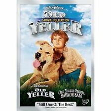 Old Yeller 2-Movie Collection--Old Yeller/Savage Sam (DVD, 2 DISC) DISNEY