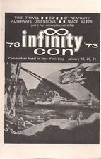 1973 Infinity Convention Progress Report #2 (8 pages )