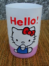 bicchiere hello kitty tumbler vaso gobelet bathroom accessories accessori bagno