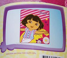 Dora The Explorer Pink Stripes Polar Fleece Throw Rug Blanket 127cm x 152cm New