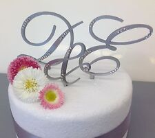 personalised monogram wedding cake toppers letters