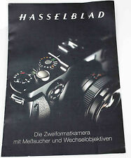 Hasselblad X-PAN Kamera Prospekt