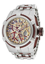Invicta 12945 Reserve Bolt Zeus Men's Swiss Made Automatic GMT Watch $4995 NEW