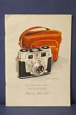 F66112~ Montgomery Ward 1952 Camera Catalog 103 Pages –Clean