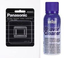PANASONIC WES 9064Y SCHERMESSER ES-RT81, ES-RT51, ES-RT31+BRAUN REINIGUNGS SPRAY