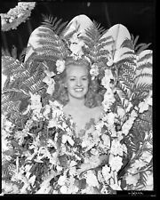 BETTY GRABLE Exotic Costume 1942 SONG OF THE ISLANDS Fox Studio Portrait Photo