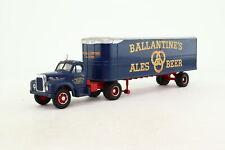 Corgi 52304; Mack B Series Artic Box Van, Ballantine Ales & Beer; V Good Unboxed