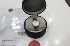 Tag Heuer Link Quartz Ladies Watch Pearl Dial With Diamonds 18K Gold/SS WJF1353