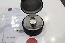 Tag Heuer Link Quartz Ladies Watch Pearl Dial With Diamonds 18K Gold/SS WJF1353