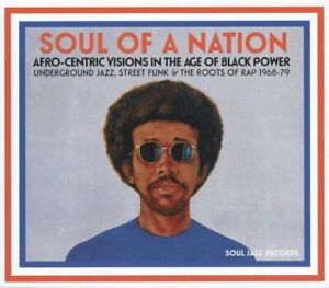 """SOUL OF A NATION """" AFRO-CENTRIC VISIONS IN THE AGE OF BLACK POWER CD """" NEW"""