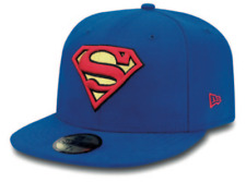 NEW ERA - 59Fifty Fitted Cap. Character Basic SUPERMAN. RRP £30. FREE BOX