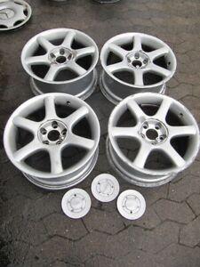   4x OZ Alufelgen 01365201 Saturn Plus 8Jx17 H2 ET35 5/112   Audi VW Mercedes