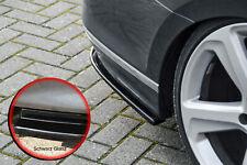 Difusor trasero partes laterales de ABS VW Passat 3g b8 r-line con Abe brillo negro
