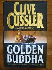 GOLDEN BUDDHA by Clive Cussler 2000 1st Edition Hardback with Dust Jacket