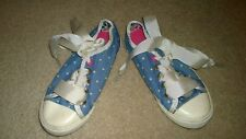 Joules Girls Canvas Shoes Size 9