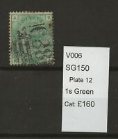 GB Queen Victoria Surface Printed SG150 Plate 12