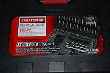 New Craftsman 140 piece SAE/Metric Mechanics Tool Set