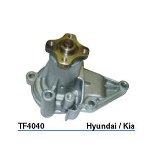 Tru-Flow Water Pump (GMB) TF4040 fits Hyundai Excel 1.5 i 12V (X-3), 1.5 i 16...