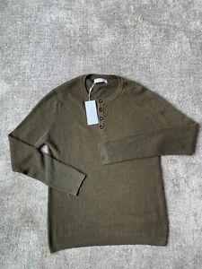 Johnstons of elgin sweater- READ SZ M