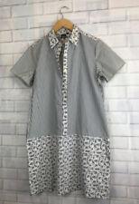 🍄 SUNO x UNIQLO 🍄 Floral / Striped Cotton Tunic Dress Size L