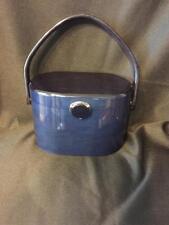 Vintage Wilardy Dark Blue Lucite Handbag