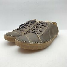 Clarks-Men's Maxton Park-Brown Leather-Casual Walking Oxfords Shoes-8 M-NEW