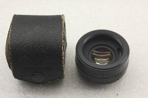 Vivitar Automatic Tele Converter 2X-1 Lens W/Case - USED D49D