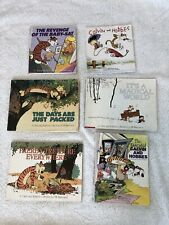 Lot of 6 Calvin And Hobbes Collection/Treasury Books by Bill Watterson