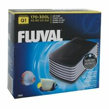 Fluval Q1 Aquarium Air Pump Dual Output 170-300 L (45-80 U.S. gal)