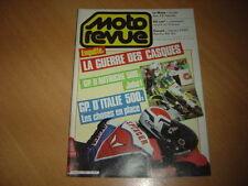 Moto revue N° 2651 Harley 1300 FXRT.Aprilia RX 80