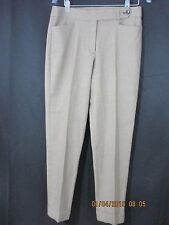 Talbots brown hounds-tooth heritage fit dress pants size 8 inseam 29