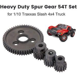 32P Steel Metal Spur Gear Motor Pinion Gears for Traxxas Slash 4X4 Stamped G9M8