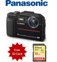 Panasonic LUMIX DC-TS7 20.4 MP Underwater Camera TS7 - Black