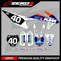 KTM MX MOTOCROSS GRAPHICS SX SXF EXC EXCF 125-450 2011-2020 PRO GO 2019 WHITE