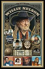 "Willie Nelson  Tribute poster - 11x17"" - Vivid Colors!"