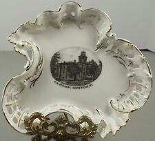 Vintage China Dish ~Made In Germany ~Souvenir of G.W. Seminary Gouverneur, N.Y.