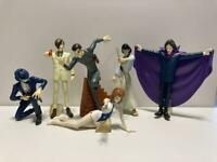 Lupin III The Third figure doll retro set of 6 jigen Goemon anime Japan m207